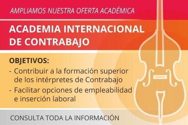 ESMAR academia internacional de contrabajo