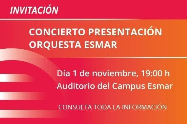 concierto orquesta ESMAR