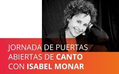 Curso de canto Isabel Monar online