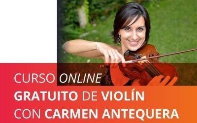 Curso online gratuito de Violín