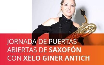 Jornada de puertas abiertas de Saxofón online