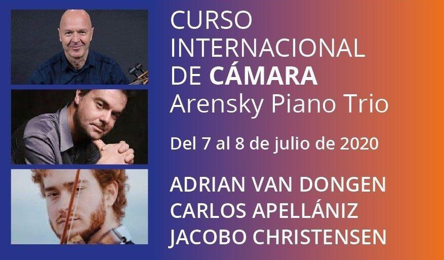 Curso Cello y Cámara con el Arensky Piano Trio