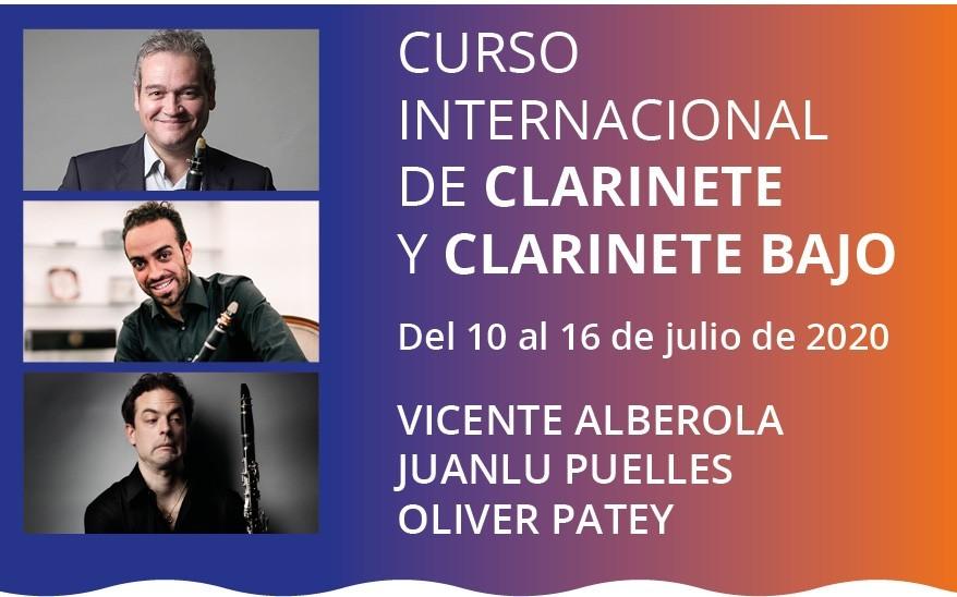 Curso Internacional de Clarinete y Clarinete Bajo