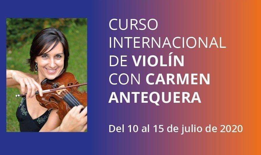Curso de Violín con Mari Carmen Antequera