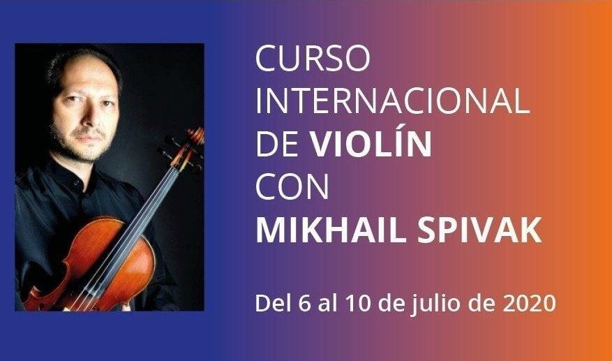 Curso de Violín con Mikhail Spivak