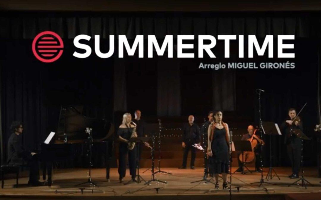 #ESMARMUSIC celebra el Día Mundial de la Música con una producción del Summertime de G. Gershwin