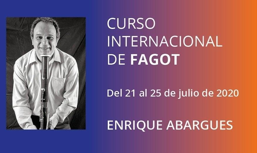 Esmar, Curso internacional de fagot, Enrique Abragues