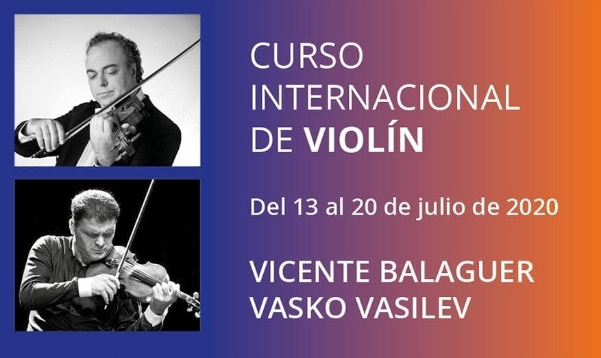 Esmar Curso Internacional de Violín