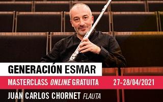 Generación ESMAR – Masterclass online gratuita de flauta