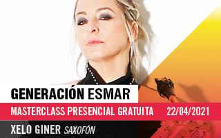 Generación ESMAR – Masterclass gratuita de saxofón