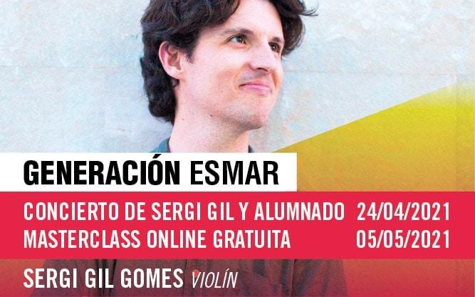 Generación ESMAR – Concierto y Masterclass online de violín