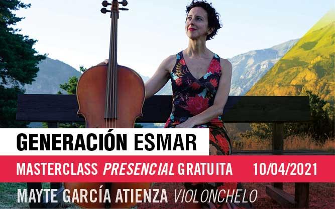 Generación ESMAR – Masterclass presencial gratuita de violonchelo