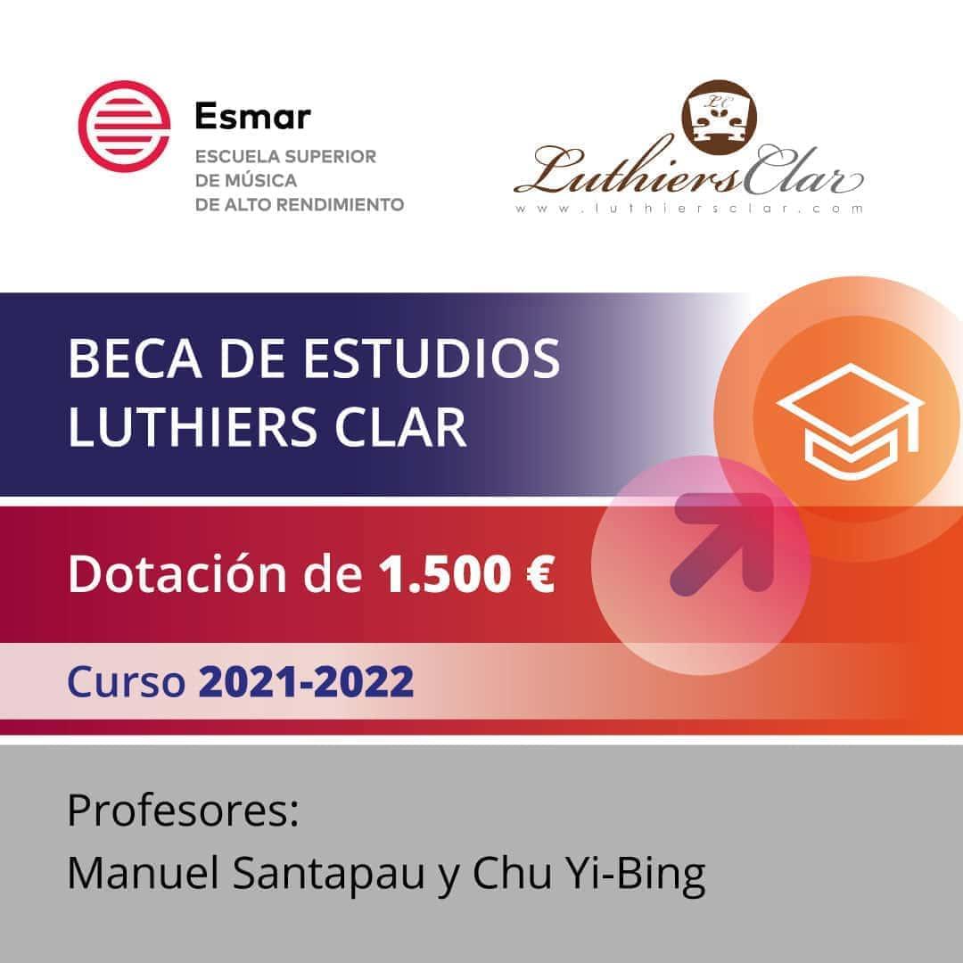 Esmar Beca Luthiers Clar