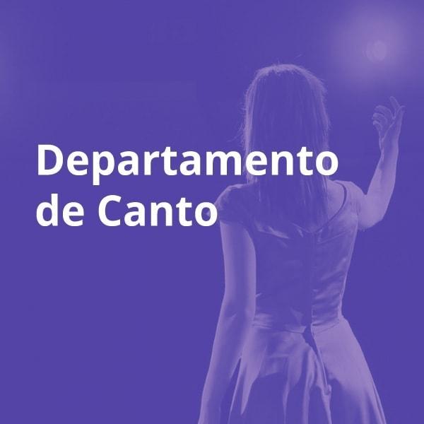 Departamento de canto ESMAR