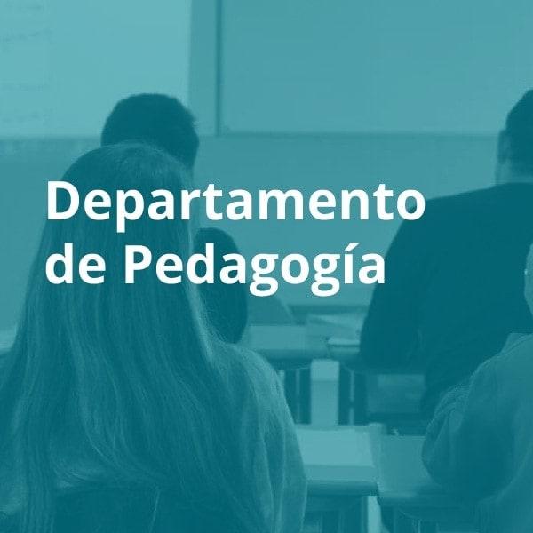 Departamento de pedagogía ESMAR