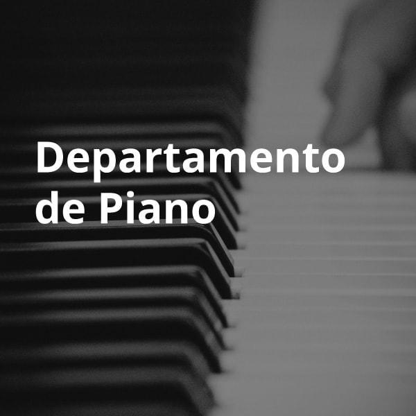 Departamento de piano ESMAR